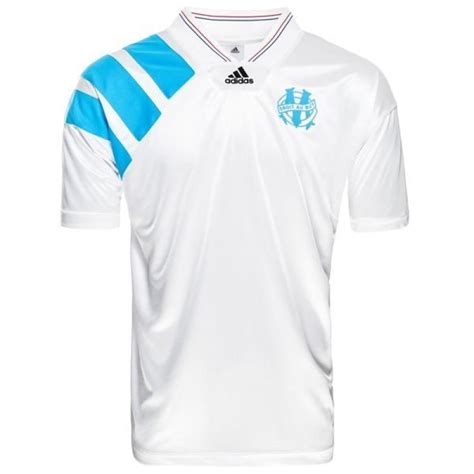 ADIDAS OM MAILLOT 93 RETRO JUNIOR COLLECTOR COUPE D'EUROPE