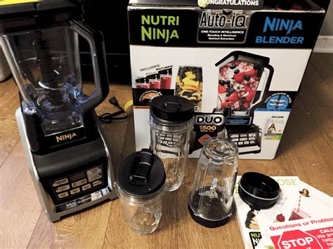 Perfect Blender for Smoothies- Ninja Duo Auto-iQ Blender