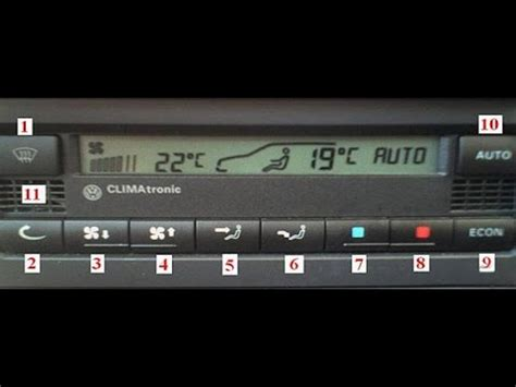 VW Climatronic system - how to diagnose a problem with