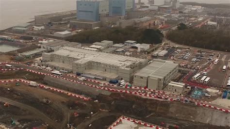 Hinkley Point C: Dramatic drone footage shows the latest