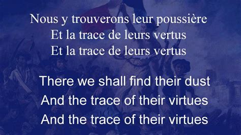 La Marseillaise, the Song of Marseille, with French Lyrics