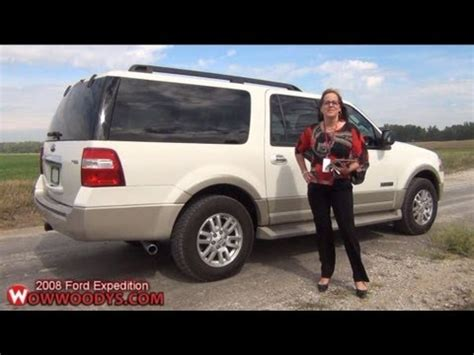2008 Ford Expedition Review| Video Walkaround| Used trucks