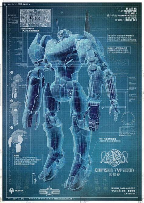 PACIFIC RIM poster focuses on Japanese Jaeger Coyote Tango