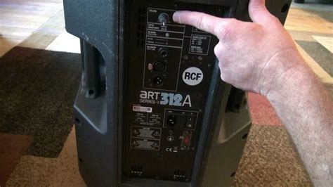 Brian Looks At The RCF ART 312A Powered Speakers - YouTube