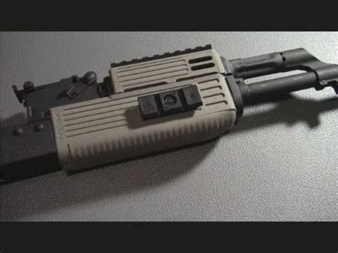 How to install the TAPCO intrafuse handguard on an AK47