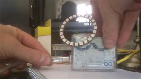 Arduino Uno and Neopixel 24 LED Ring, part 3 - YouTube