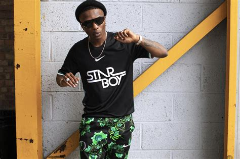 Athletic apparel giant, Nike, designs Wizkid's jersey