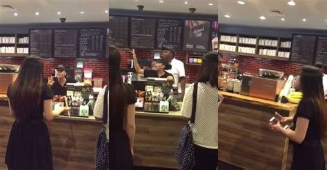 Angry Starbucks manager flips out on customer over a
