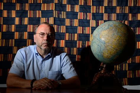Ebola Discoverer Peter Piot: 'I Would Sit Next to an