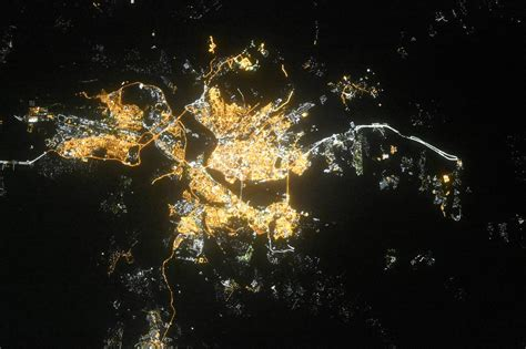 Russian Cities Seen From Space - English Russia