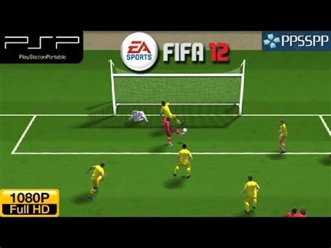 Fifa 12 - PSP Gameplay 1080p (PPSSPP) - YouTube