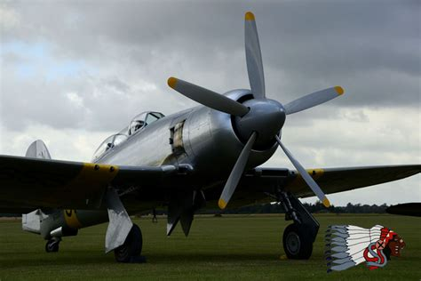Hawker Sea Fury T-20 - The Fighter Collection