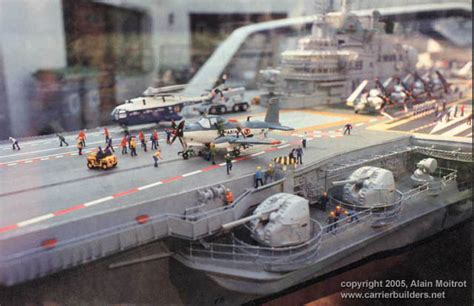 Foch R99 - French Aircraft Carrier by Alain Moitrot