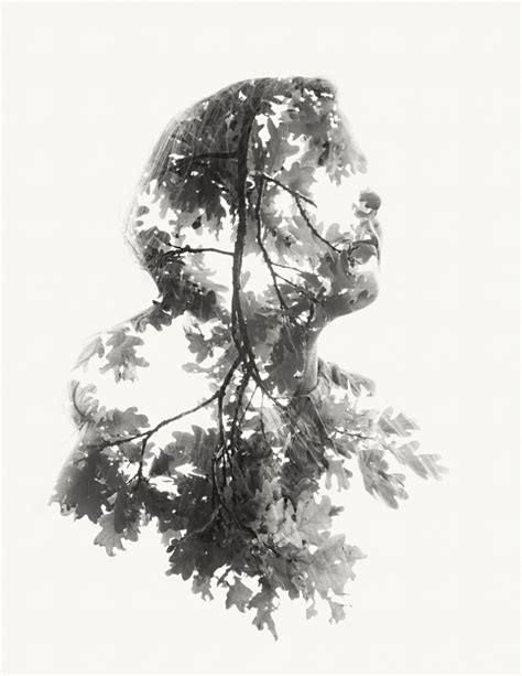 Double and Triple Exposure Portraits by Christoffer