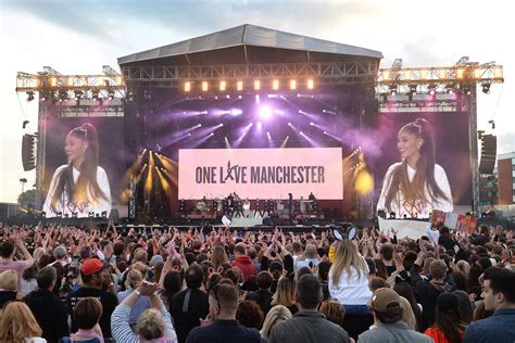 In pictures: Manchester holds star-studded One Love