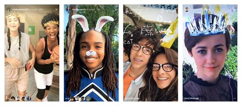 Instagram adds Snapchat-like face filters and more