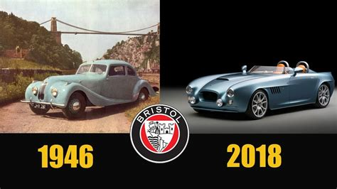 BRISTOL CARS EVOLUTION   From 1946 - 2018 - YouTube