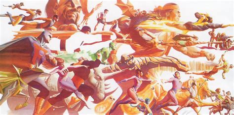 The Dork Review: Cool Poster: Alex Ross's Tribute to Hanna