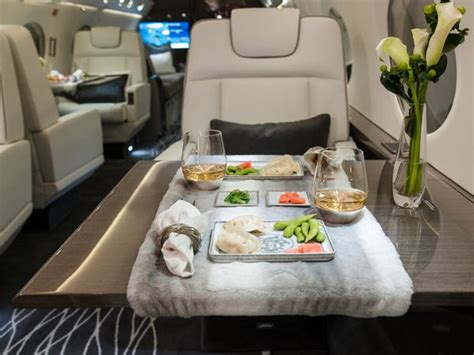 Photos show what flying on private jets is really like