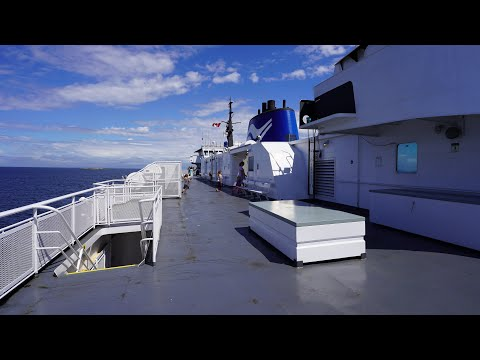 Downtown Vancouver to Victoria high-speed commuter ferry