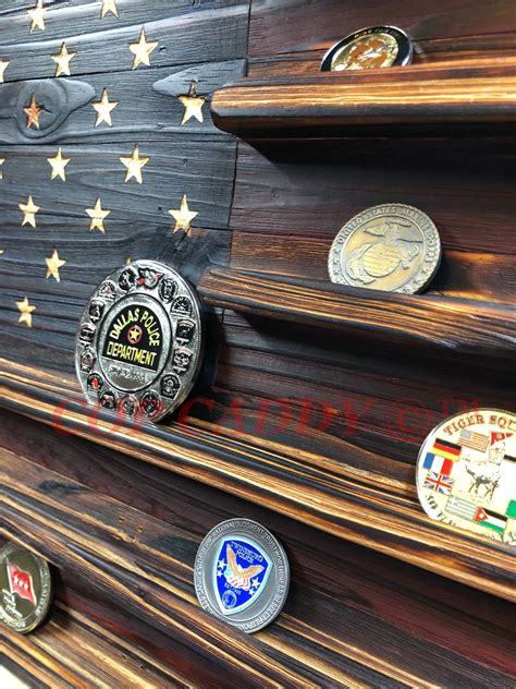 Challenge Coin Flag – Cop Caddy