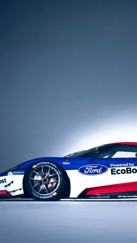 Wallpaper Ford GT Race Car, 24 Hours of Le Mans, Cars