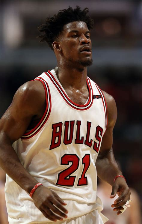 Numbers game: Jimmy Butler posted several statistical