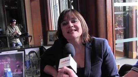 ESCKAZ in Amsterdam: Lisa Angell (France) interview (at