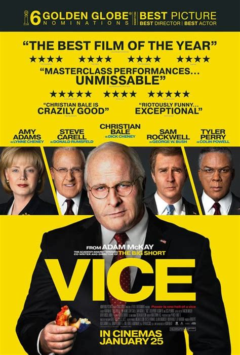 Movie Review - Vice (2018)