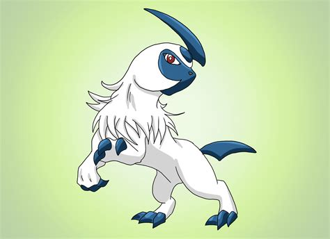 How to Draw Absol from Pokémon: 10 Steps (with Pictures)