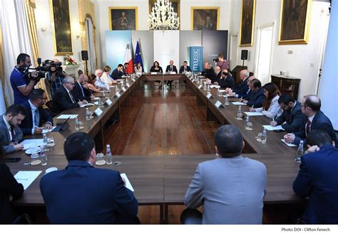 MEUSAC Core Group Meeting with the Prime Minister   MEUSAC