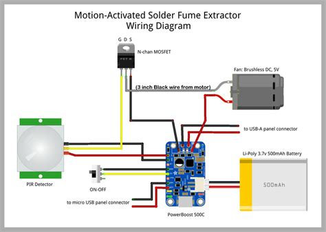 Wire and Solder   Motion-Activated Solder Fume Extractor