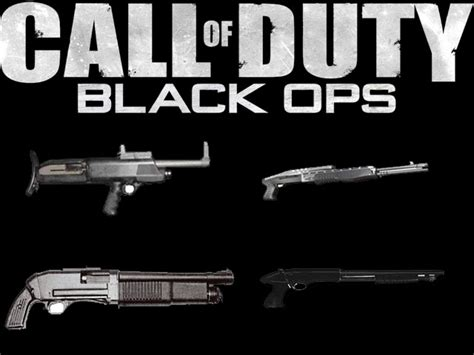 Call Of Duty Black OPS: Armes : Call Of Durt Black OPS
