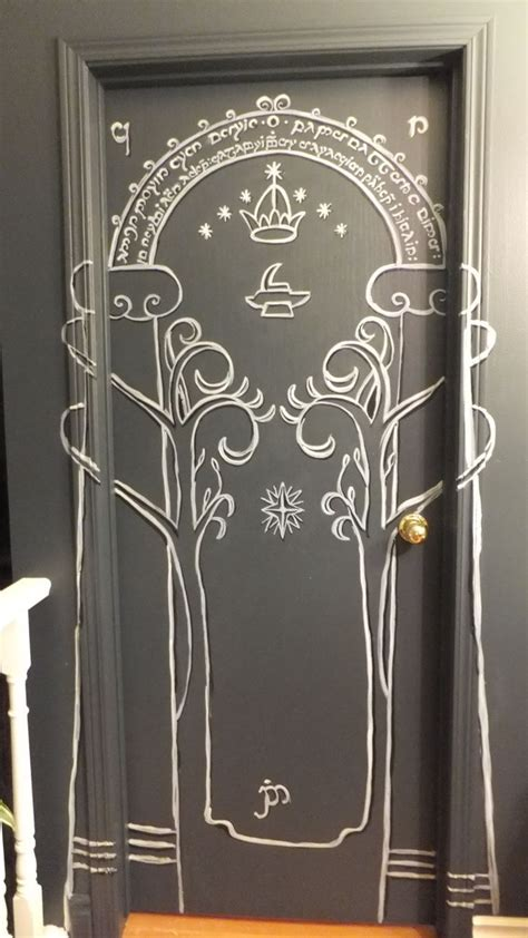Lord of the Rings, the Mines of Moria, doors of Durin