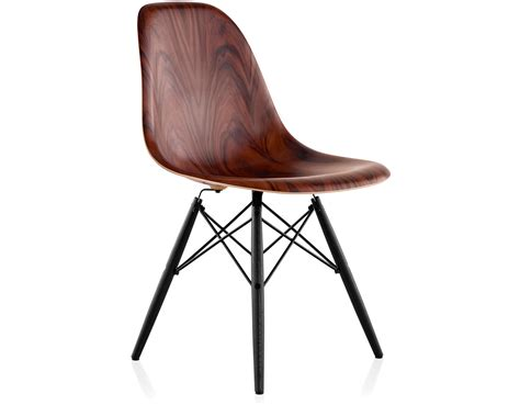 Eames® Molded Wood Side Chair With Dowel Base - hivemodern