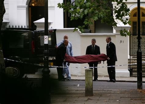 Scene Outside Amy Winehouse's London Home After Her Death