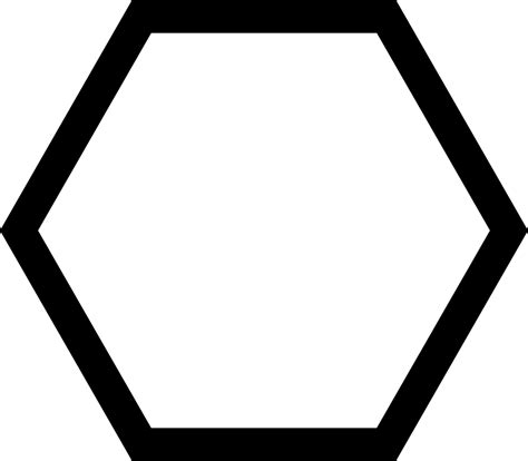 Hexagon Svg Png Icon Free Download (#423546