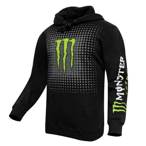SWEAT A CAPUCHE - ONE INDUSTRIE MONSTER ENERGY - Achat