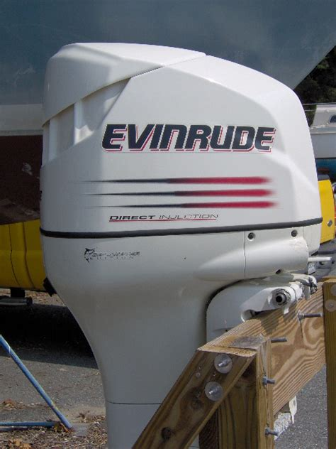 SOLD-Pair of 2003 Evinrude 135 HP outboards w/ controls