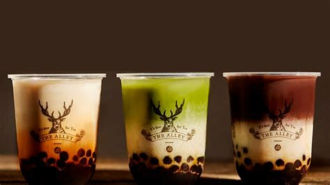 PSA: Taiwan milk tea chain The Alley to open in May - NOLISOLI