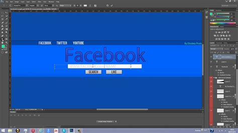 Free Facebook Youtube Banner PSD Template 2014 - YouTube