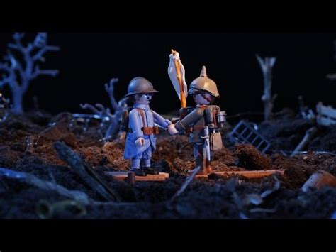 FRATERNISATIONS - Film Playmobil 14-18 - YouTube