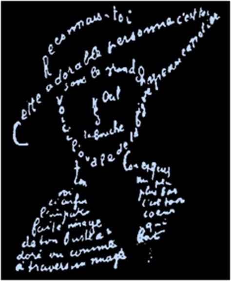 Calligramme (Guillaume Apollinaire)