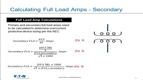 Transformers - Calculating Full Load Amps - YouTube