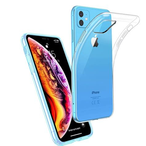 """Coque pour IPHONE 11 (6,1"""") Protection Silicone Souple"""
