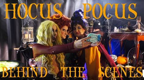 I Put A Spell On You (HOCUS POCUS) - Behind The Scenes