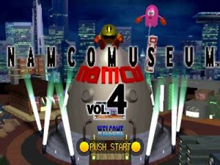 Namco Museum Vol 4 PS1 ISO - Download Game PS1 PSP Roms