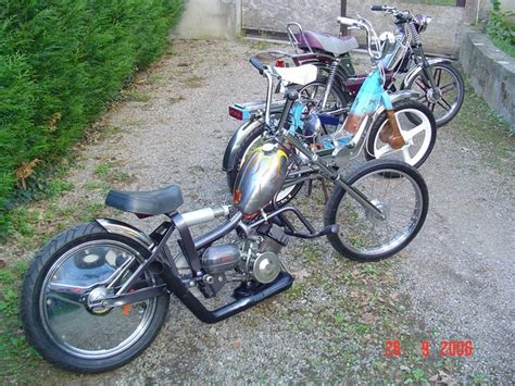 Mobylette custom a vendre - location auto clermont