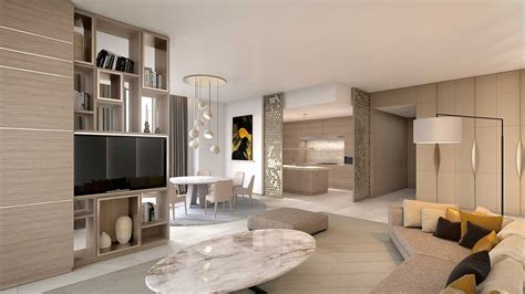 3D Perspective Interior Architect 3D living room