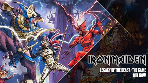 Iron Maiden - Legacy Of The Beast game trailer - YouTube